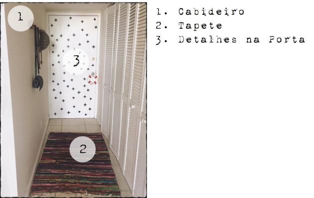 Três passos para decorar seu hall de entrada